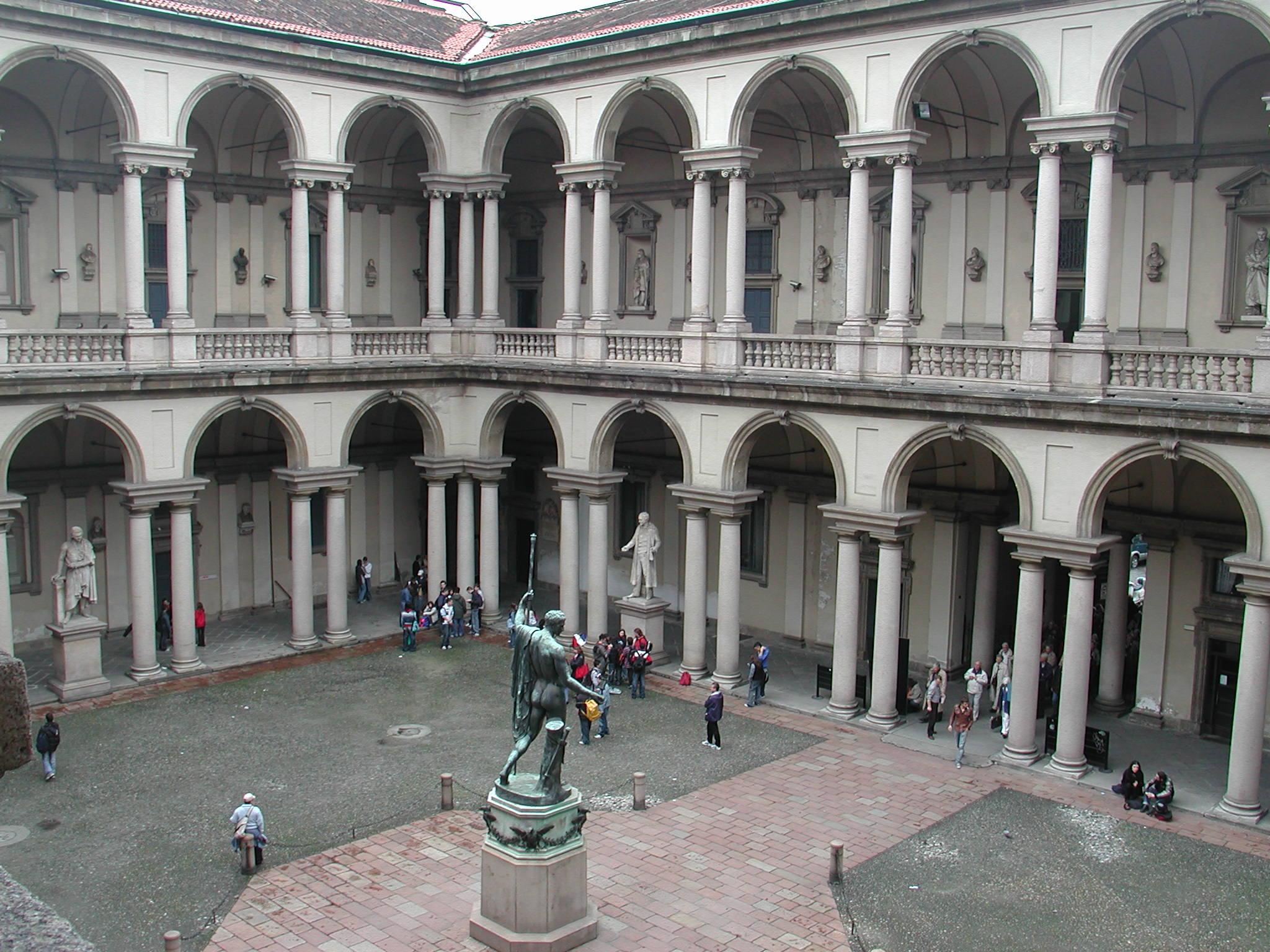 Milano, una visita alla Pinacoteca di Brera